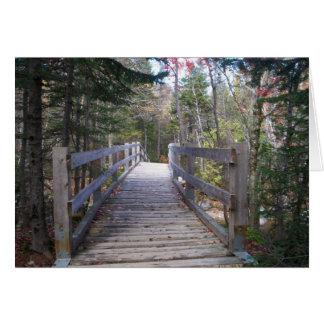 I would cross any bridge notecard