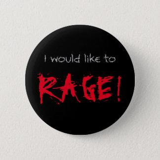 I Would Like to Rage D&D Barbarian 2 Inch Round Button