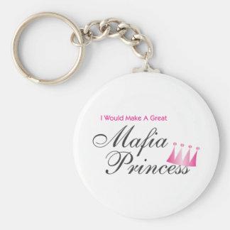 I Would Make A Great Mafia Princess Keychain