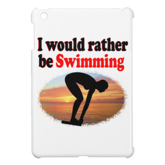 I WOULD RATHER BE SWIMMING CASE FOR THE iPad MINI