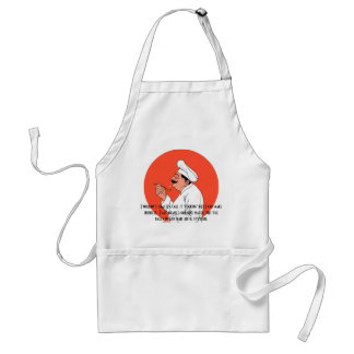 I wouldn't exactly call it cooking standard apron