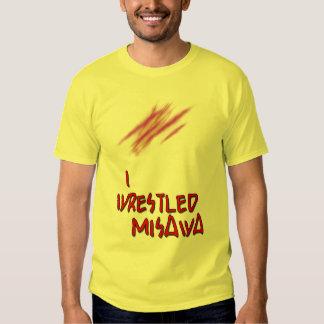 I Wrestled Misawa Tee Shirts