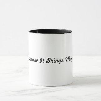 I Write Because Mug