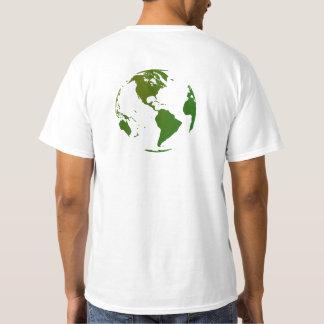 I Write to Change the World t-shirt