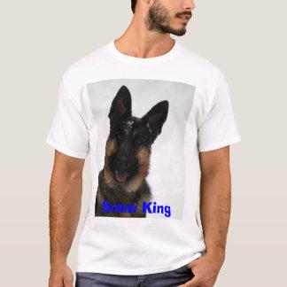 I wuv da sno   woof, Snow King  T-Shirt