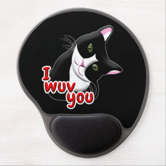 I wuv you Cat Gel Mouse Pad