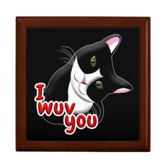 I wuv you Cat Gift Box