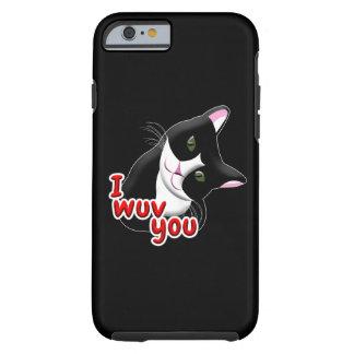 I wuv you Cat Tough iPhone 6 Case