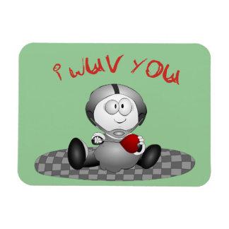 I Wuv You Premium Magnet