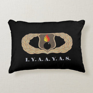 I.Y.A.A.Y.A.S. DECORATIVE PILLOW
