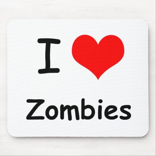 I zombis de coeur tapis de souris