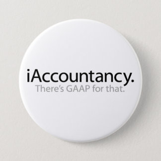 iAccountancy 3 Inch Round Button