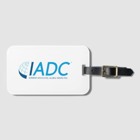 IADC Luggage Tag with Business Card Slot