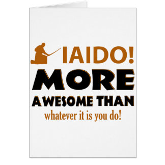 IAIDO DESIGN CARD
