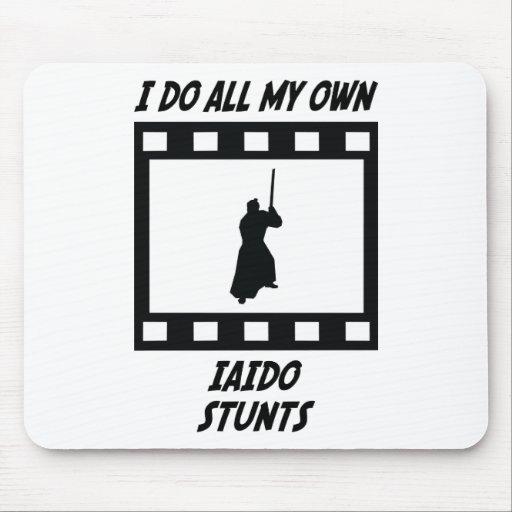 Iaido Stunts Mouse Pads