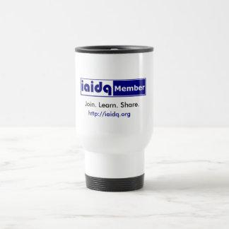 IAIDQ Member Travel Mug