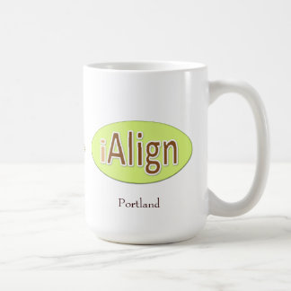 iAlign + your city + your name Coffee Mug