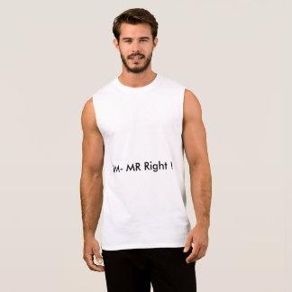 IAM Mister right Sleeveless Shirt