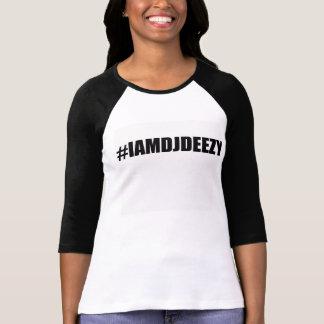 #IAMDJDEEZY Lady wear T-Shirt