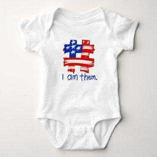 #IAmThem Flagtag Baby Bodysuit