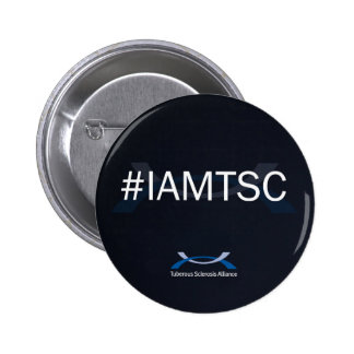 "#IAMTSC 2 1/4"" bouton Macaron Rond 5 Cm"