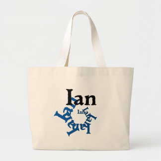 Ian Large Tote Bag