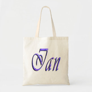 Ian, Name, Logo, Kindy Library Tote Bag