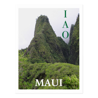 IAO VALLEY, MAUI POSTCARD