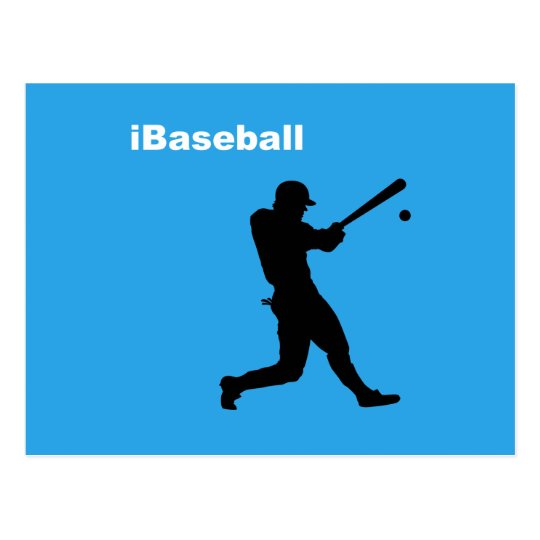 iBaseball Postcard