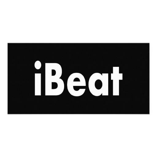 iBeat Customized Photo Card