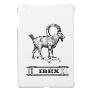 ibex fancy curl iPad mini cover
