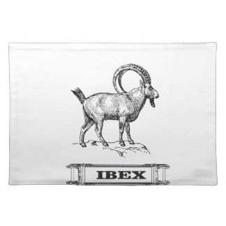 ibex fancy curl placemat