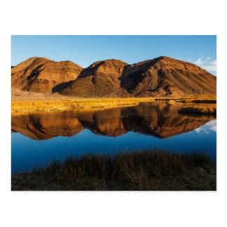 Ibex Hills Reflection Postcard