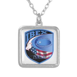IBEX – Interstellar Boundary Explorer Silver Plated Necklace