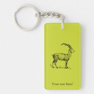 Ibex Keychain