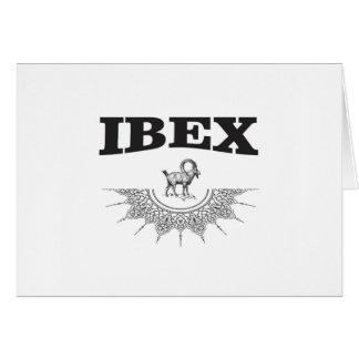 ibex the artwork card