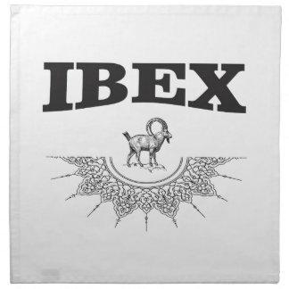 ibex the artwork napkin