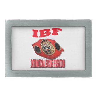 IBF Championship Boxing Belt Rectangular Belt Buckles