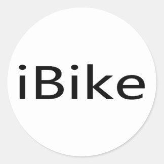 iBike Round Sticker