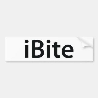 iBite bumper sticker