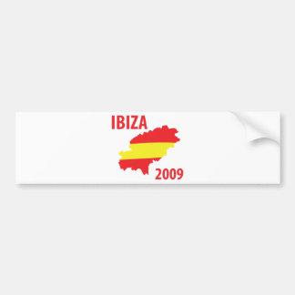 Ibiza 2009 bumper sticker