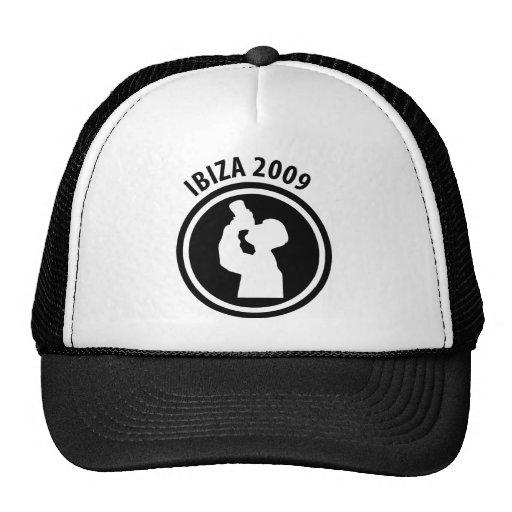 Ibiza 2009 drinker icon trucker hat