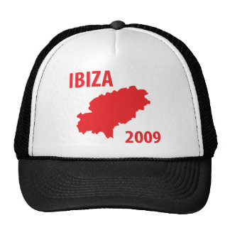 Ibiza 2009 icon trucker hat