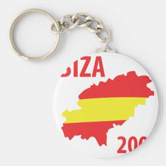 Ibiza 2009 keychain