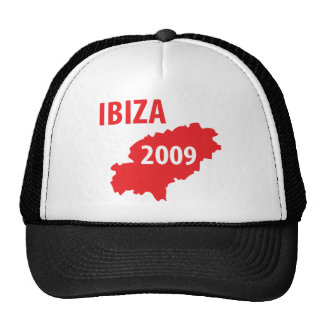 Ibiza 2009 symbol trucker hat