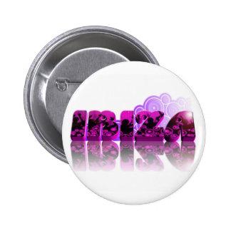 IBIZA 2011 PINBACK BUTTON