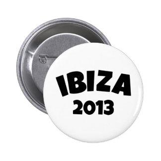 Ibiza 2013 pinback button