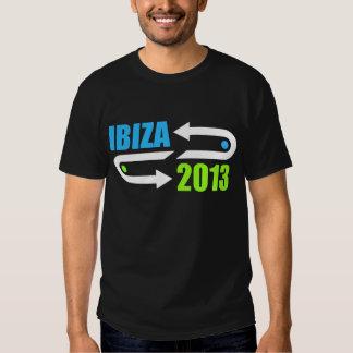 ibiza 2013 design black dj t-shirt