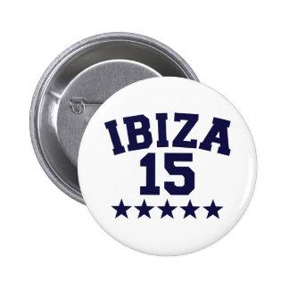 Ibiza 2015 2 inch round button