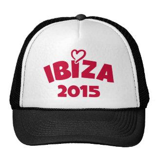 Ibiza 2015 trucker hat